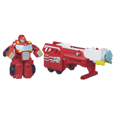 Playskool Heroes Transformers Rescue Bots Hook and Ladder Heatwave - Chickadee Solutions - 1