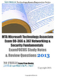 MTA Microsoft Technology Associate Exam 98-366 & 367 Networking & Security Fu... - Chickadee Solutions