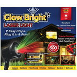 Glow Bright Laser Light Show with Remote Tripod and Stake - Chickadee Solutions - 1