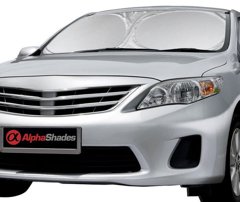 AlphaShades Car Windshield Sunshade - Made From High Quality Nylon Polyester ... - Chickadee Solutions - 1