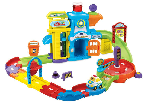 VTech Go! Go! Smart Wheels Police Station Playset VTech - Chickadee Solutions - 1
