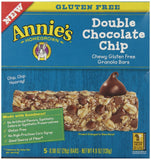 Annie's Chewy Gluten Free Granola Bars Double Chocolate Chip .98 oz 5 Count - Chickadee Solutions - 1