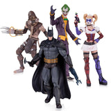 DC Collectibles Batman: Arkham Asylum: The Joker Harley Quinn Scarecrow and B... - Chickadee Solutions