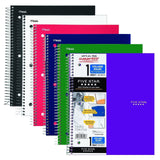 Five Star Spiral Notebooks 1 Subject 100 College Ruled Sheets Assorted Basic ... - Chickadee Solutions - 1