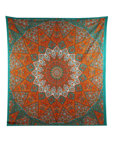 1 X Queen Indian Star Mandala Psychedelic Tapestry Hippie Bohemian Wall Hangi... - Chickadee Solutions - 1