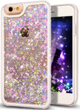 iPhone 6S Plus CaseNSSTAR iPhone 6S/6 Plus Quicksand Liquid Bling Glitter Har... - Chickadee Solutions - 1