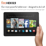"Fire HDX 8.9 Tablet 8.9"" HDX Display Wi-Fi and 4G LTE 32 GB - Includes Specia... - Chickadee Solutions - 1"