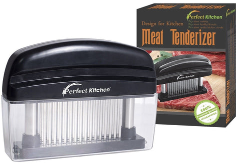 Iperfect kitchen 48 stainless steel blades meat tenderizer for Perfect kitchen cleaner
