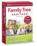 Individual Software Family Tree Heritage Platinum 9 PC Disc - Chickadee Solutions - 1