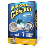 Geode Explorer Science Kit Crack Open 7 Amazing Rocks and Find Crystals! - Chickadee Solutions - 1