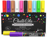 Chalk Markers - Pack of 10 neon color pens. For Chalkboard Whiteboard Window ... - Chickadee Solutions - 1