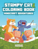 Stampy Cat Coloring Book: Minecraft Adventures - Chickadee Solutions - 1