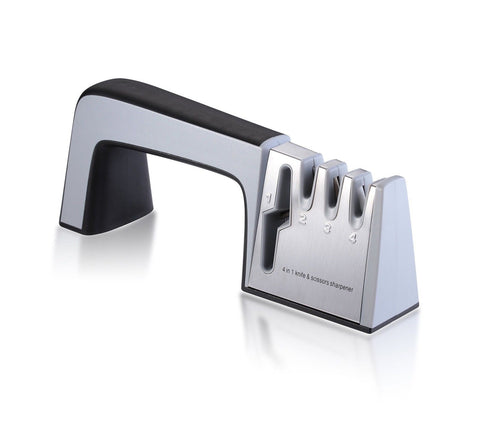 Koolife 4-in-1 Knife Sharpener for All Knives and Kitchen Scissors Profession... - Chickadee Solutions - 1