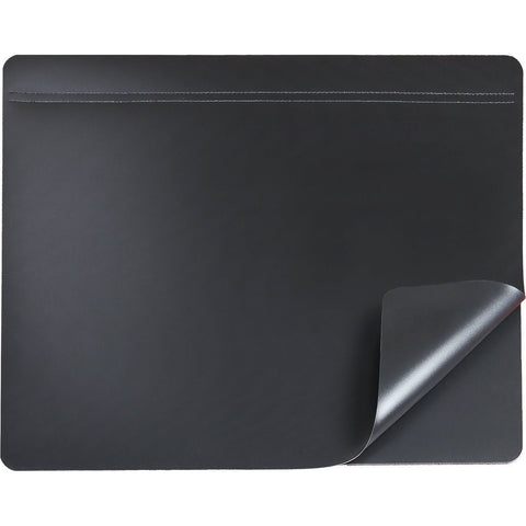 "19"" x 24"" Hide-Away Lift Top Desk Organizer Pad Black Privacy Lift Top - Chickadee Solutions - 1"