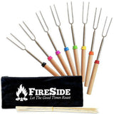 Fireside Marshmallow Roasting Sticks 32 Inch Extendable Forks For Perfect Smo... - Chickadee Solutions - 1