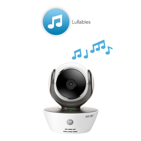 motorola mbp854connect 2 dual mode baby monitor with 2 cameras and 4 3 inch. Black Bedroom Furniture Sets. Home Design Ideas