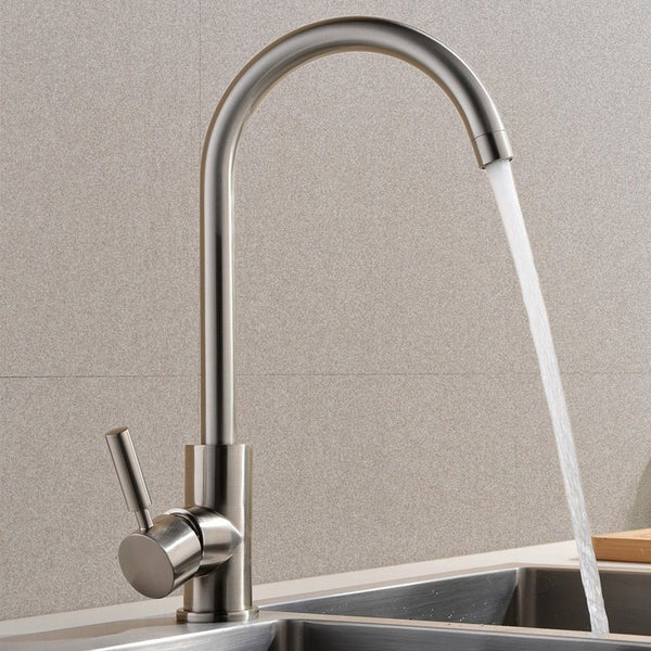 Best Commercial Brushed Nickel Stainless Steel Single