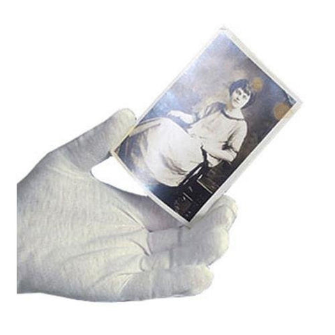 Archival Methods White Cotton Gloves (Large 12 Pairs) - Chickadee Solutions