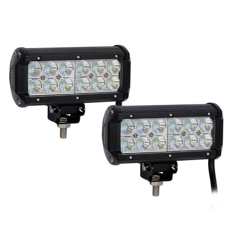 "Nilight 2PCS 6.5"" 36w Flood LED Work Light Off Road LED Light Bar Super Brigh... - Chickadee Solutions - 1"