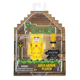 Terraria Gold Armor Player Toy with Accessories - Chickadee Solutions - 1