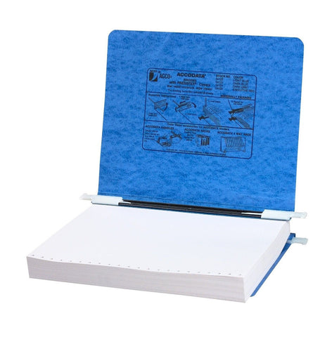 ACCO Pressboard Hanging Data Binder 8.5 x 11 Inches Unburst Sheets Light Blue... - Chickadee Solutions - 1