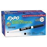 Expo Low-Odor Dry Erase Markers Fine Point 12-Pack Black - Chickadee Solutions - 1