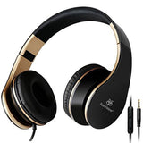 Headphones Sound Intone I65 Headphones with Microphone and Volume Control Lig... - Chickadee Solutions - 1