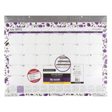 AT-A-GLANCE Monthly Desk Pad Calendar Camille Academic Year 12 Months July 20... - Chickadee Solutions - 1