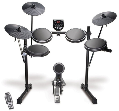 "Alesis DM6 USB Kit Eight-Piece Compact Beginner Electronic Drum Set with 8"" S... - Chickadee Solutions - 1"