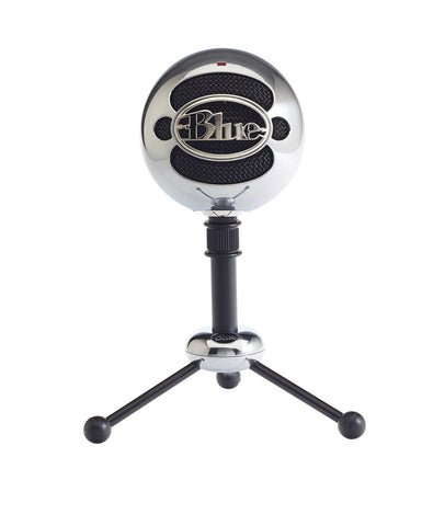 Blue Microphones Snowball USB Microphone (Brushed Aluminum) Brushed Aluminum - Chickadee Solutions - 1