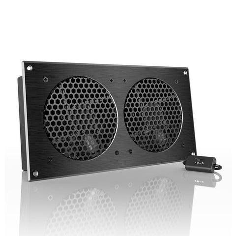 "AC Infinity AIRPLATE S7 Quiet Cooling Fan System 12"" with Speed Control for H... - Chickadee Solutions - 1"