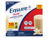 Ensure Plus Nutrition Shake Vanilla 8-Ounce 16 Count Standard Packaging - Chickadee Solutions - 1