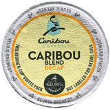 Caribou Coffee Caribou Blend Decaf K-Cup Portion Pack for Keurig K-Cup Brewer... - Chickadee Solutions - 1