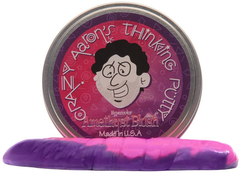 Crazy Aaron's Putty World Amethyst Blush Putty - Chickadee Solutions