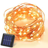 8 Modes Solar String Lights [New Version] Amir 100 LEDs Solar Powered Starry ... - Chickadee Solutions - 1