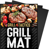 Grill Tactics Grill Mat (Set of 3) - Heavy-Duty Non-Stick BBQ & Grilling Shee... - Chickadee Solutions - 1