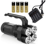 KAZOKU High Power LED Rechargeable Spotlight - Portable and Easy to Carry(fla... - Chickadee Solutions - 1