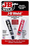 J-B Weld 8265S Original Steel Reinforced Epoxy Twin Pack - 2 oz - Chickadee Solutions