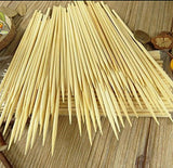 Kabob skewers PACK of 500 8 inch bamboo sticks made from 100 % natural bamboo... - Chickadee Solutions - 1