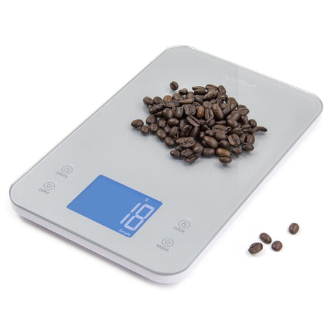 Greater Goods Nourish Digital Kitchen Food Scale + Timer - Ultra Slim Design ... - Chickadee Solutions - 1