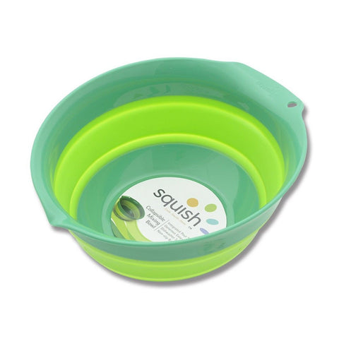 Squish Mixing Bowl 5-Quart Green - Chickadee Solutions