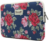 Canvaslife Flower Patten Laptop Sleeve 13 Inch Macbook Air 13 Case Macbook Pr... - Chickadee Solutions - 1