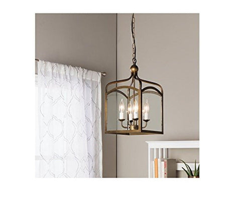 Jojospring Ashley 4-light Foyer Hanging Lantern - Chickadee Solutions