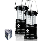 Etekcity 2 Pack Portable Outdoor LED Camping Lantern Flashlight with 6 AA Bat... - Chickadee Solutions - 1