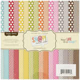 """Sn@p! Color Vibe Collection Paper Pad 6""""X6"""" 36 Sheets-"" 1 - Chickadee Solutions - 1"