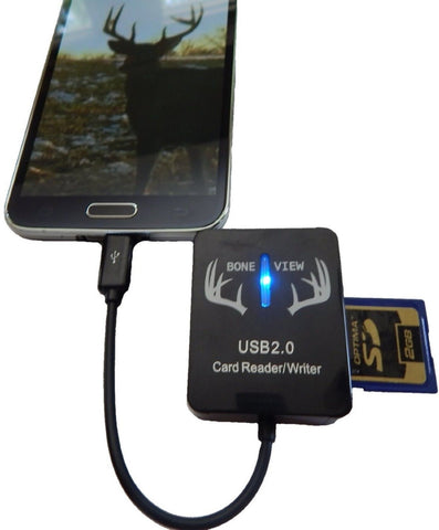 BoneView Trail and Game Camera Viewer for Android Phones Micro USB Connector ... - Chickadee Solutions - 1