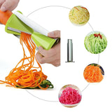 Yookat Premium Spiral Slicer Set Vegetable Cutter Spiralizer Bundle 4-blade -... - Chickadee Solutions - 1