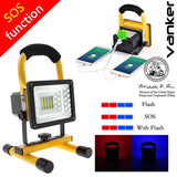 Rechargeable Work Lights 15w 24LED Waterproof Flood Light Trouble Light with ... - Chickadee Solutions - 1