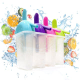 The Friendly Yeti Ice Pop Molds for Frozen Fruit Popsicles and Smoothies. BPA... - Chickadee Solutions - 1