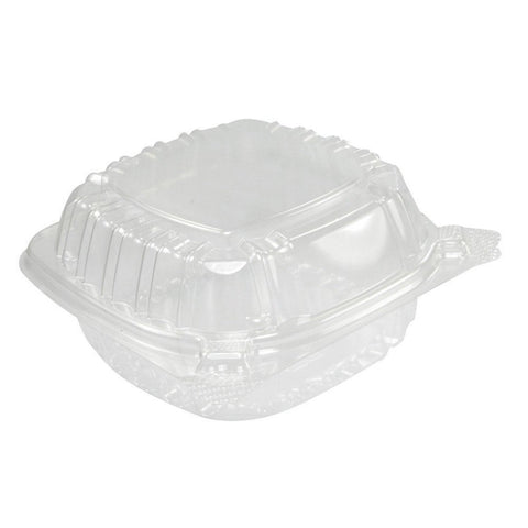A World Of Deals Small Clear Plastic Hinged Food Container for Sandwich Salad... - Chickadee Solutions - 1